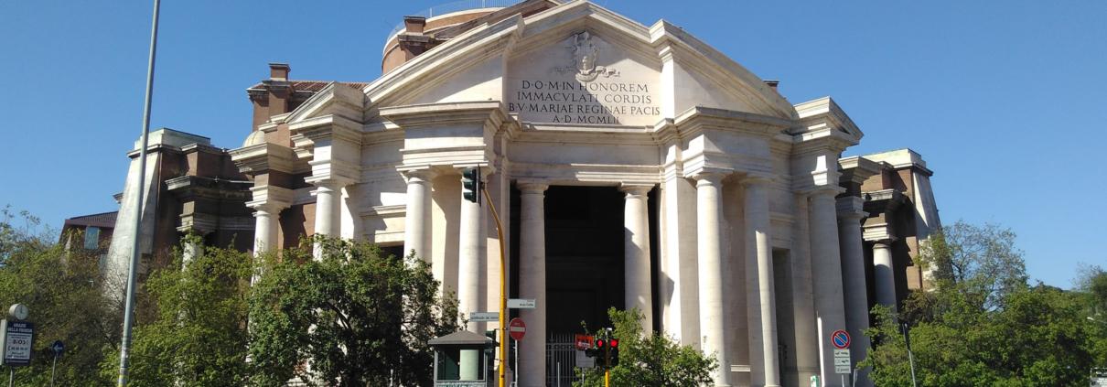 Basilica Sacro Cuore Piazza Euclide Roma